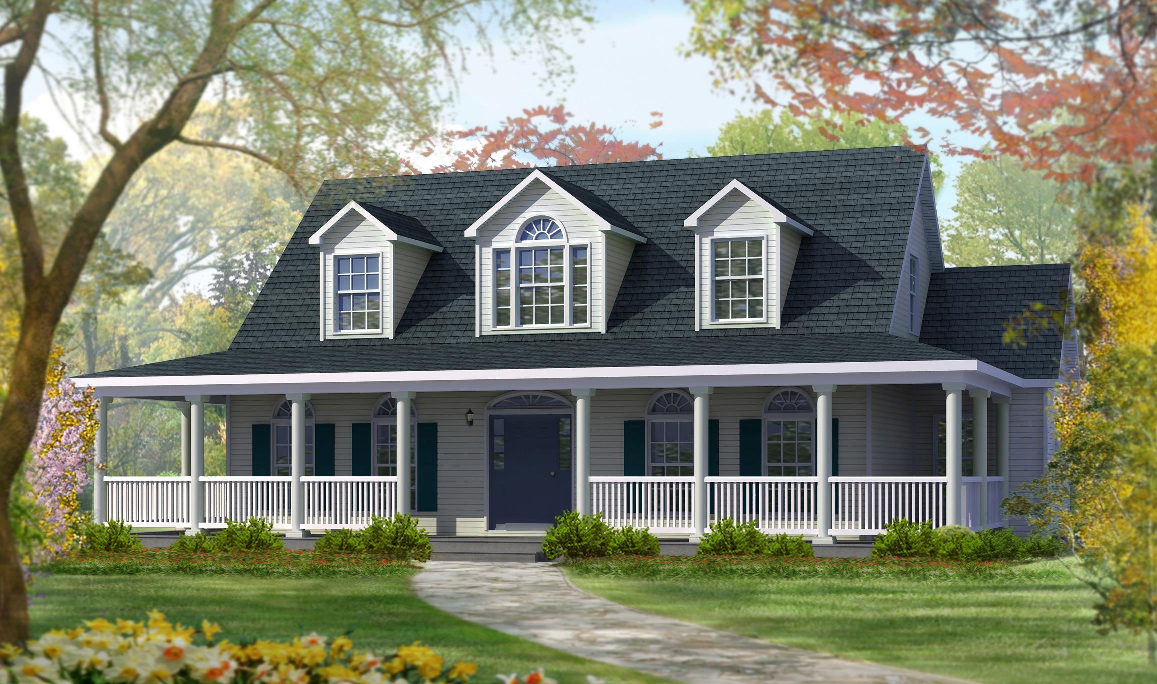 Cape cod ashley home construction - Cape cod style homes ...