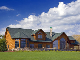 Log Homes for you and your family